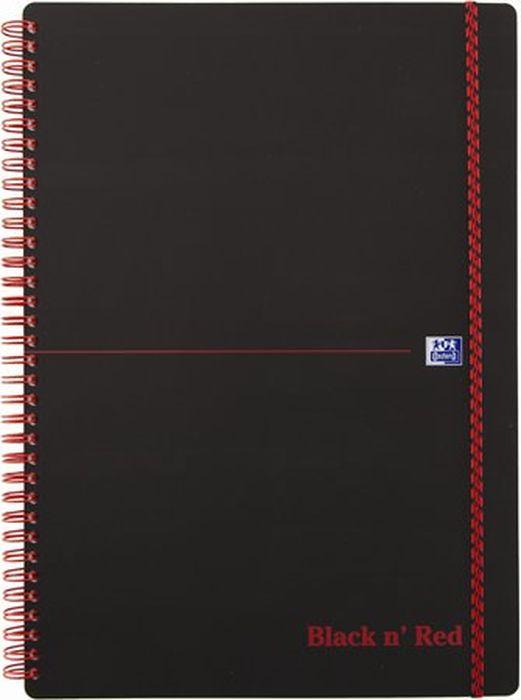 Oxford Блокнот Black 'n' Red PP 70 листов в линейку 400047653 -