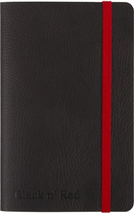 Oxford Блокнот Black n Red 72 листа A6 400051205400051205Бизнес-тетрадь Oxford Black n Red идеально подойдет для профессионалов, ценящих качество и надежность письменных принадлежностей. Такая тетрадь может быть использована как в личных целях, так и в качестве регистрационного журнала или архивных записей. Благодаря специальному переплету тетрадь раскрывается на 180°, что позволяет использовать сразу обе страницы на развороте.
