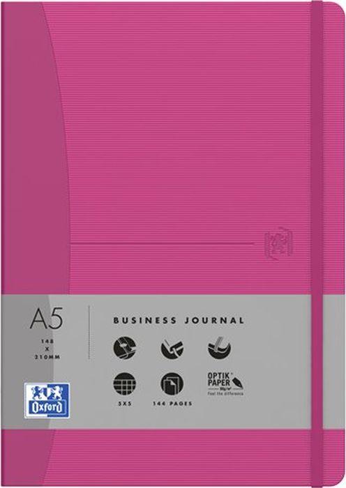 Oxford Блокнот Office Signature цвет розовый 72 листа в линейку400053154Премиальные блокноты Oxford Office Signature идеально подойдут для ежедневных записей и заметок. Широкий ассортимент форматов и цветов не оставит равнодушным ни одного профессионала.Основные характеристики:-Прочная текстурированная обложка из ламинированного плотного картона с закругленными углами.-Надежный переплет (прошивка корешка нитками).-Закладка-ляссе в цвет обложки.-Уникальная бумага Optik Paper 80г/м2 (72 листа).-Задний карман для хранения мелочей. -Эластичная фиксирующая резинка.-Полезные информационные страницы.