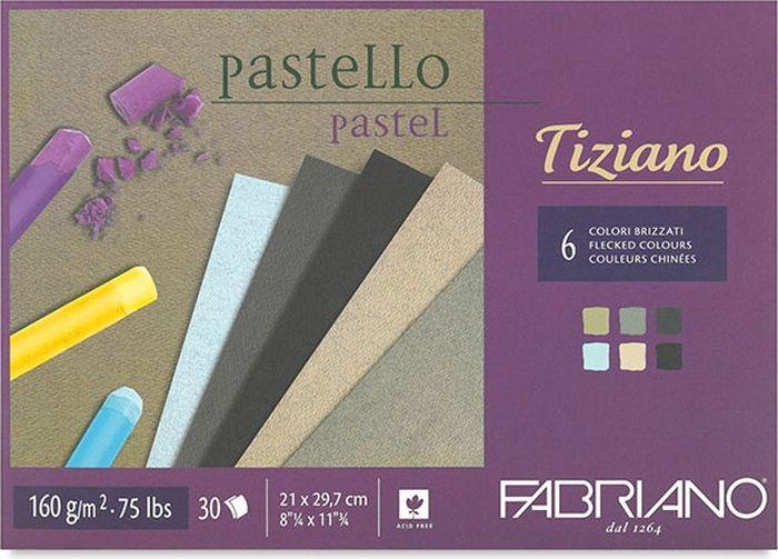 Fabriano Альбом для пастели Tiziano 6 цветов 30 листов 46021297 -  Бумага и картон
