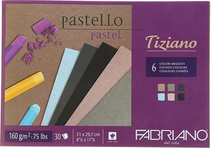 Fabriano Альбом для пастели Tiziano 6 цветов 30 листов 46221297 -  Бумага и картон
