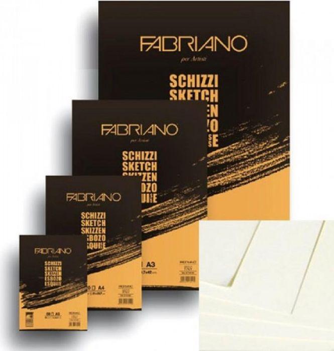 Fabriano Блокнот для зарисовок Schizzi 100 листов 80297428029742блокноты Schizzi подходят для работы с разными сухими графическими материалами – пастелью, углем, чернографитными и цветными карандашами.Бумага для альбомов Schizzi изготавливается без добавления кислот и оптических отбеливателей и соответствует экологическим стандартам качества.