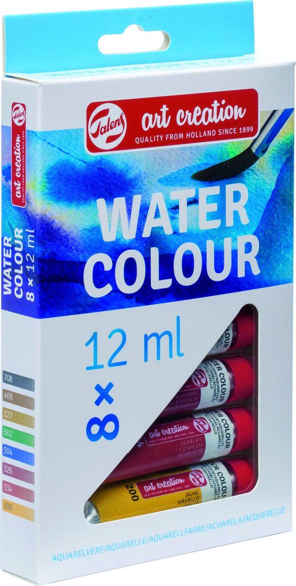 Royal Talens Набор акварельных красок Art Creation 8 цветов9022008MАкварельные краски ArtCreationпрекрасно подходят для начинающих художников и любителей, так как краски легкоразмываются водой и просты в работе. Чем больше используется воды, тем светлее цвет краски. В результате многие прозрачные слои могут быть нанесены поверх друг друга. Уровень Entry.Основные характеристики:Высокое качествоПростота в использованииПошаговая инструкция вкаждом набореПодходят для начинающих