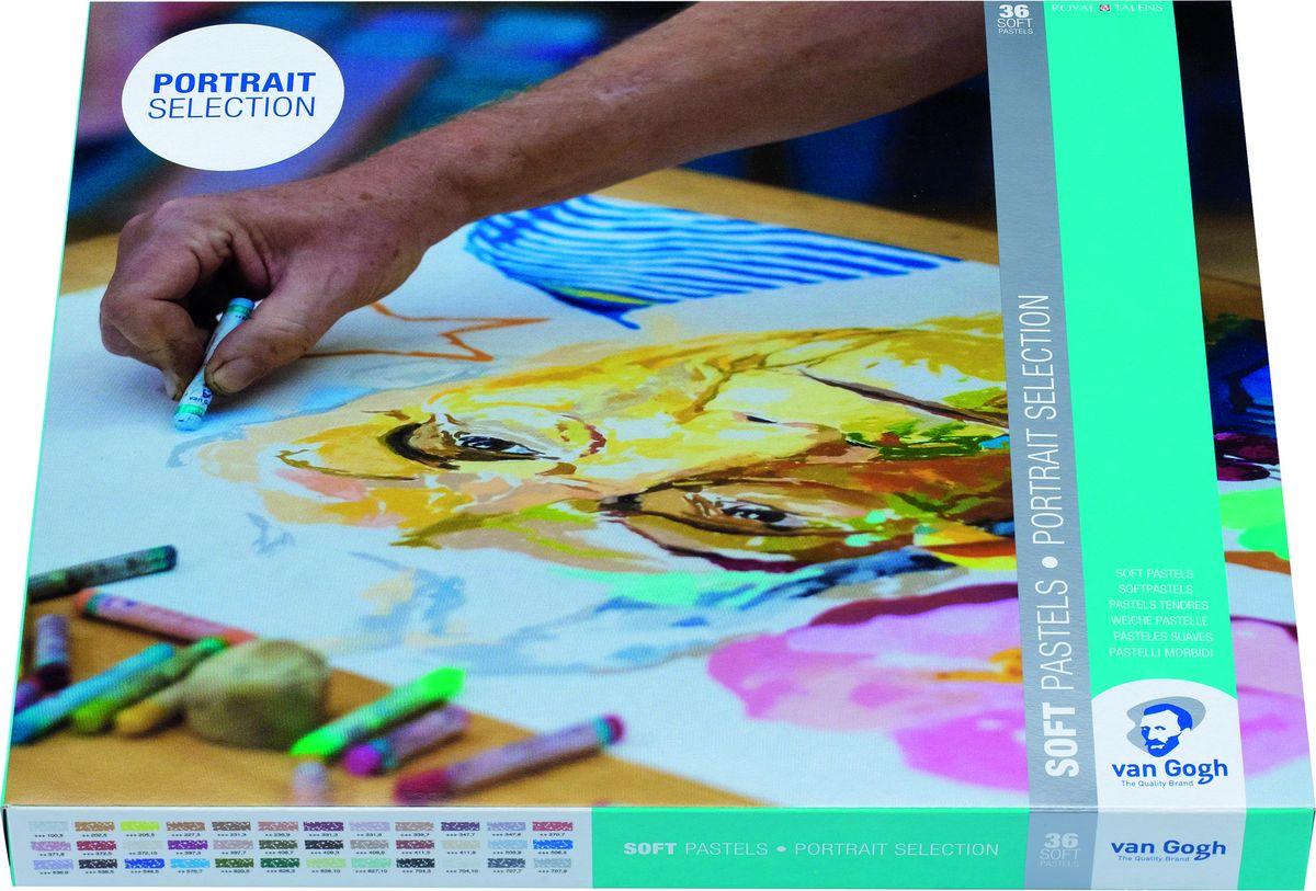 Royal Talens Набор сухой пастели Van Gogh 36 цветов90820136Сухая пастель Van Gogh производится из чистых пигментов, смешанных с каолином. Не содержит тяжелых металлов и других вредных веществ. Благодаря идеальному сочетанию компонентов, пастель не рассыпается, а цветопередача остается на высоком уровне. Сухая пастель Van Gogh подходит для тонких и детальных прорисовок и может быть использована на таких поверхностях как: бумага, картон, камень, асфальт или дерево.