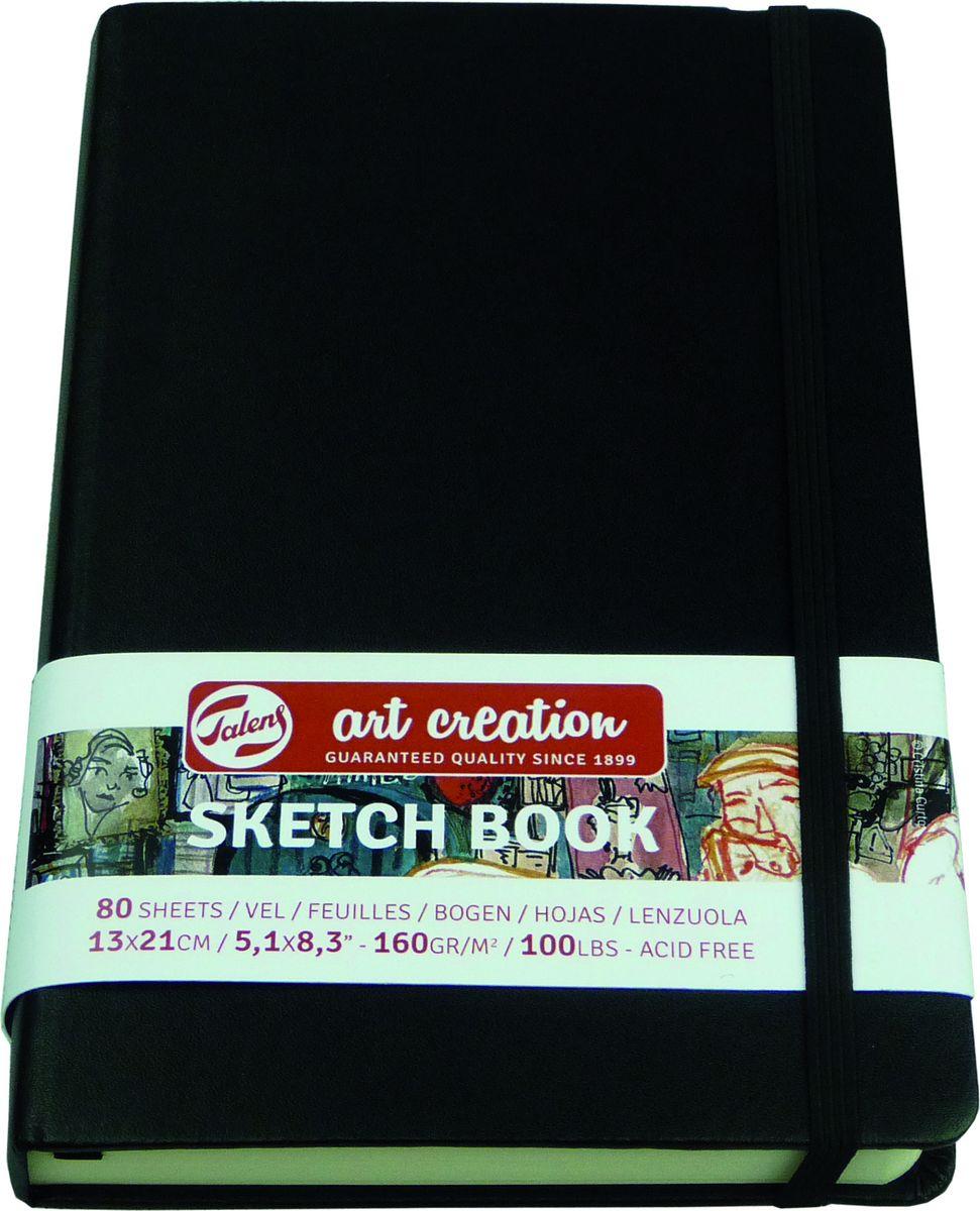 Royal Talens Блокнот для зарисовок Art Creation цвет черный 80 листов 9314002M -
