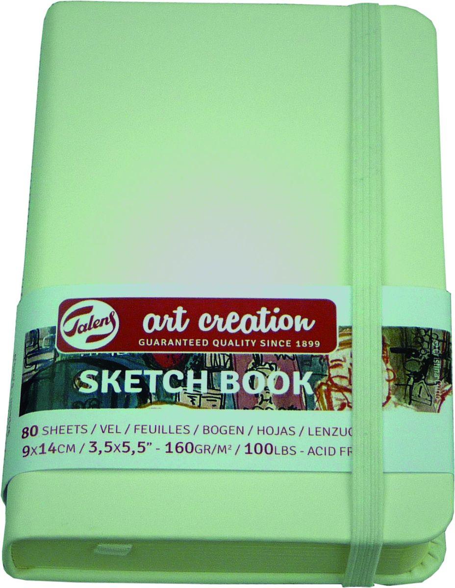 Royal Talens Блокнот для зарисовок Art Creation цвет белый 80 листов 9314101M9314101MБлокноты Art Creation идеально подойдут для графических зарисовок карандашом, пастелью, углем, ручкой, а также для записей и заметок.Благодаря высококачественной бумаге, гелевые и масляные чернила не просачиваются, а твердая обложка защищает листы от смятия.