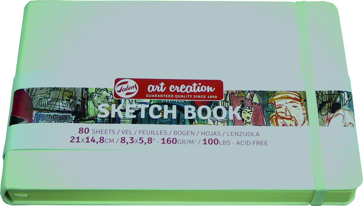 Royal Talens Блокнот для зарисовок Art Creation цвет белый 80 листов 9314105M9314105MБлокнот Art Creation идеально подойдет для графических зарисовок карандашом, пастелью, углем, ручкой, а также для записей и заметок.Благодаря высококачественной бумаге, гелевые и масляные чернила не просачиваются, а твердая обложка защищает листы от смятия.