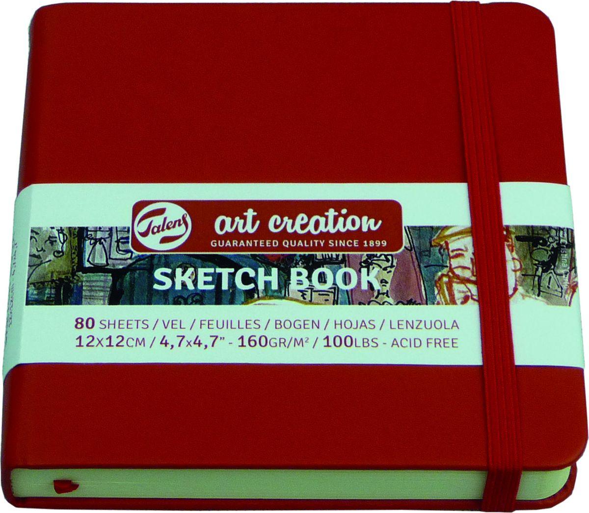 Royal Talens Блокнот для зарисовок Art Creation цвет красный 80 листов 9314204M9314204MБлокнот Art Creation идеально подойдет для графических зарисовок карандашом, пастелью, углем, ручкой, а также для записей и заметок.Благодаря высококачественной бумаге, гелевые и масляные чернила не просачиваются, а твердая обложка защищает листы от смятия.