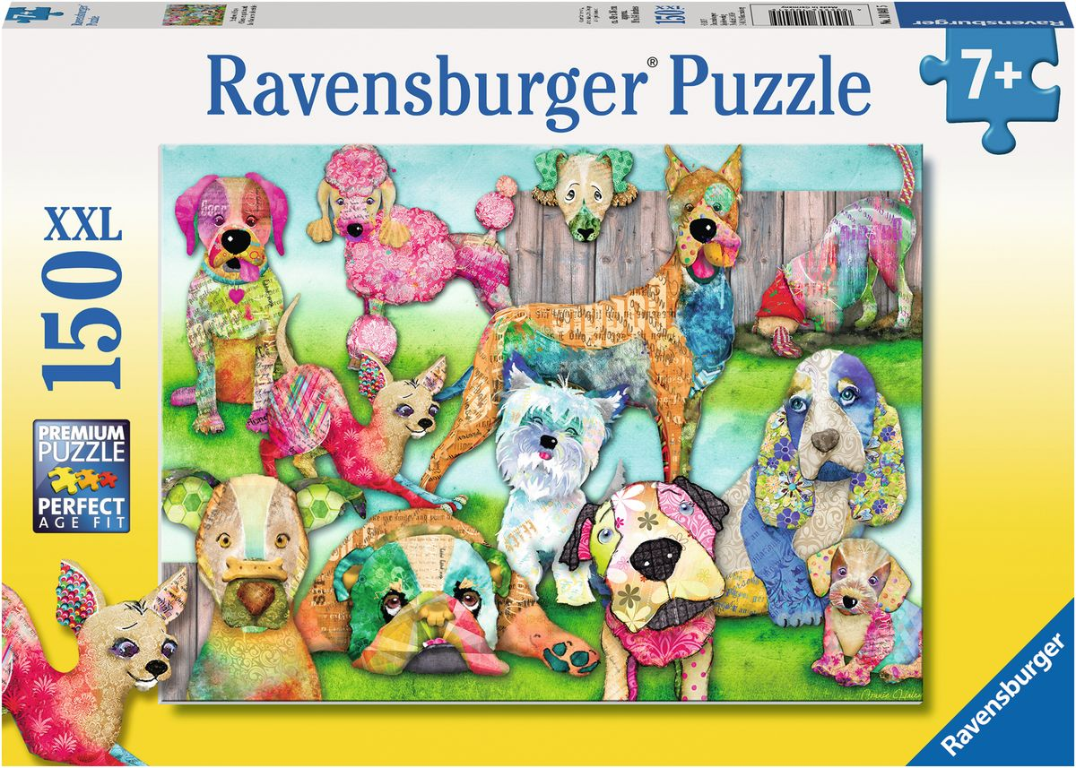 Ravensburger Пазл Пэчворк собачки
