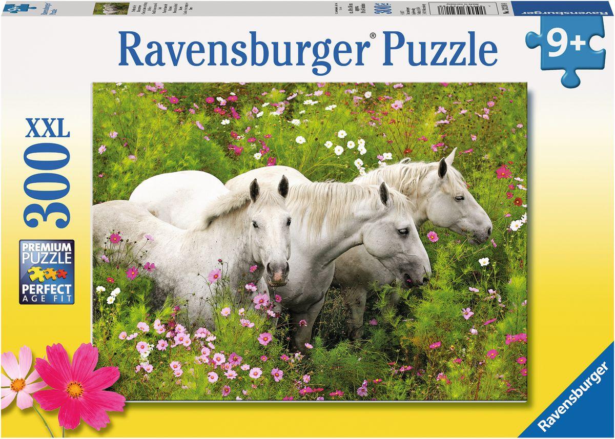 Ravensburger Пазл Лошади в поле цветов XXL