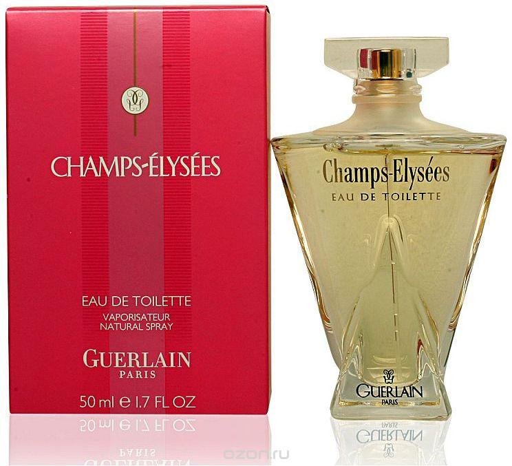 Guerlain Champs Elysees туалетная вода, 50 мл туалетная вода guerlain champs elysees 50 мл