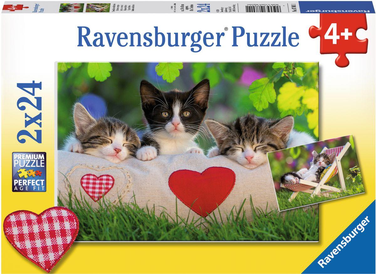 Ravensburger Пазл Котята отдыхают 2 в 1