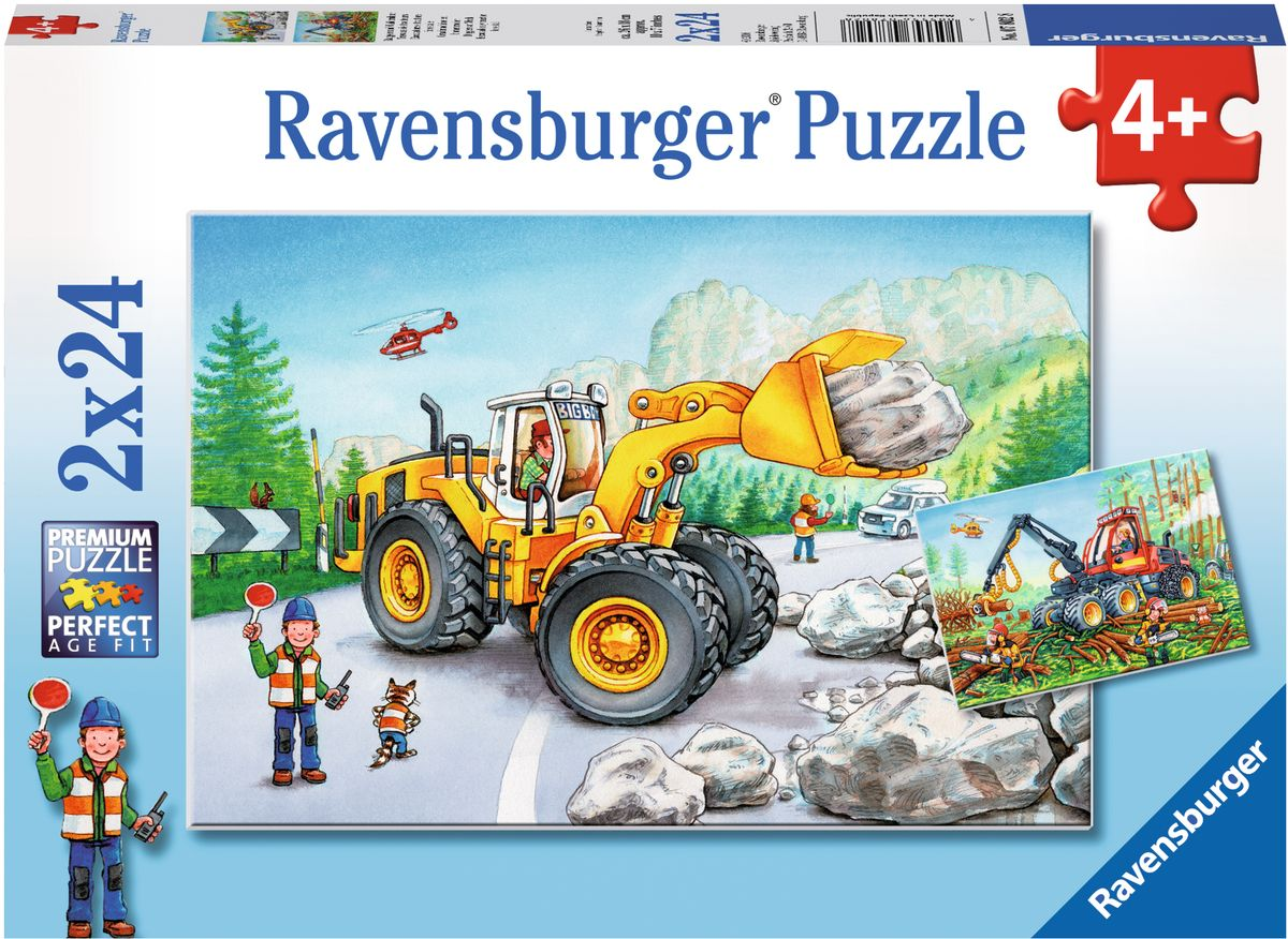 Ravensburger Пазл Землекопы 2 в 1