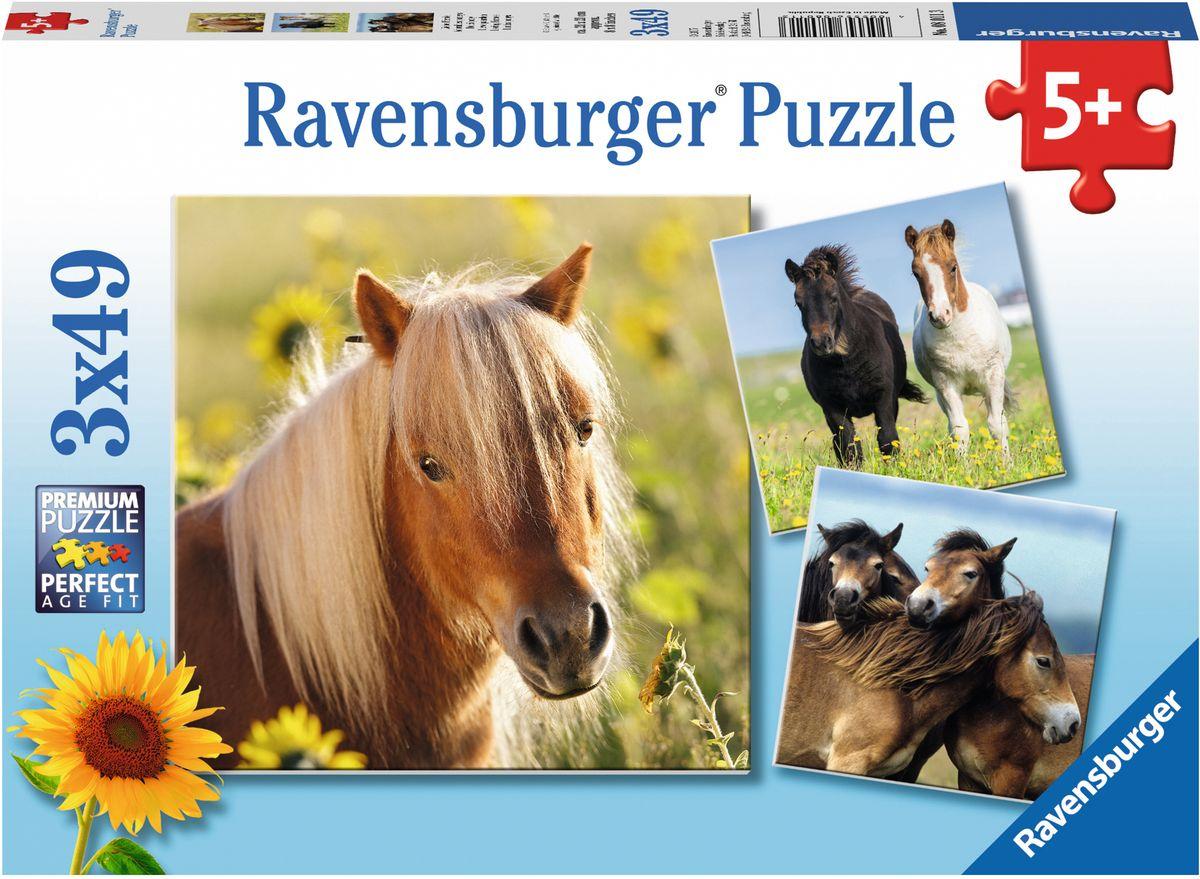 Ravensburger Пазл Пони 3 в 1