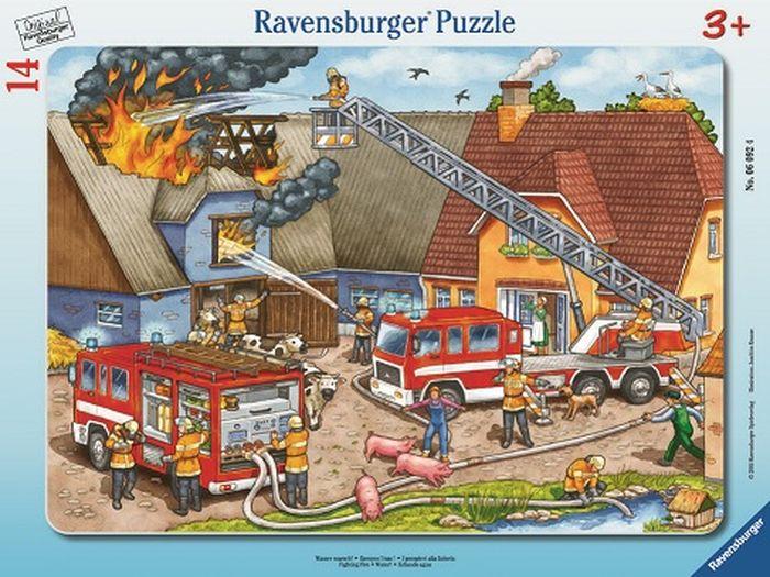 Ravensburger Пазл Борьба с огнем