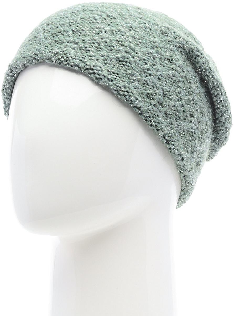 Шапка женская Snezhna, цвет: зеленый. SWH6843/3. Размер 56/58SWH6843/3Стильная шапка-колпак Snezhna, выполнена из высококачественной пряжи. Модель очень актуальна для тех, кто ценит комфорт, стиль и красоту. Отличный вариант на каждый день.Уважаемые клиенты!Размер, доступный для заказа, является обхватом головы.