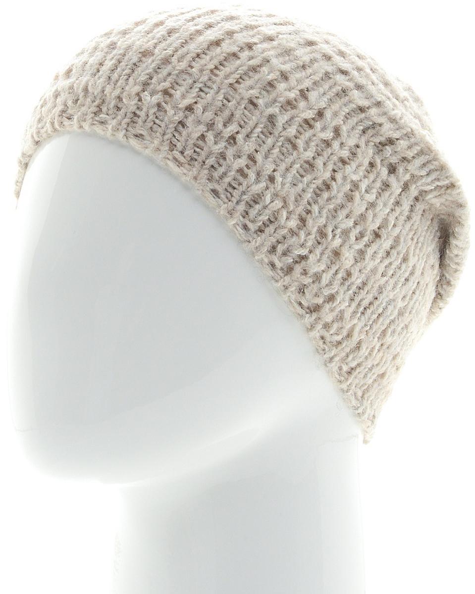 Шапка женская Snezhna, цвет: светло-бежевый. SWH7113/2. Размер 56/58SWH7113/2Стильная шапка Snezhna, выполнена из высококачественной пряжи. Модель очень актуальна для тех, кто ценит комфорт, стиль и красоту. Отличный вариант на каждый день.Уважаемые клиенты!Размер, доступный для заказа, является обхватом головы.