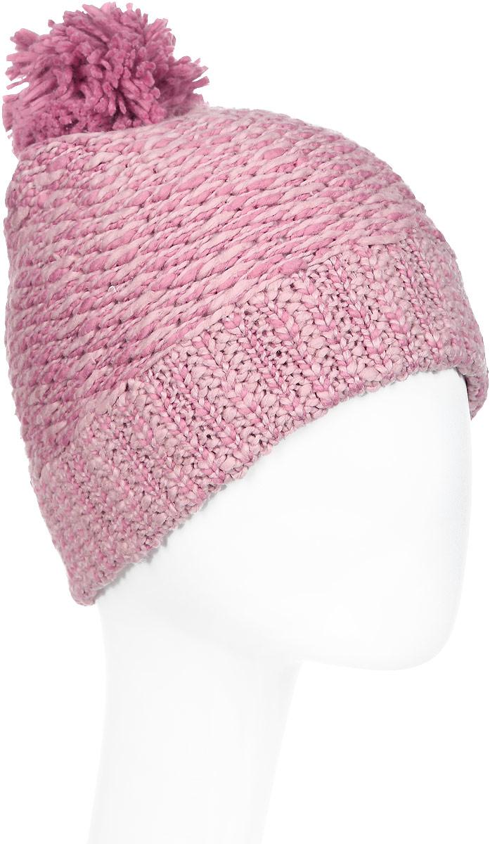 Шапка жен Reebok Cl Womens Beanie, цвет: розовый. CE0719. Размер 56/57CE0719Эта стильная шапка прекрасно завершит непринужденный образ. Большой помпон, отворот и кожаный классический логотип дополняют продуманный стиль.Идеально для создания стильного образа на каждый день и холодной погоды.Плотная посадка благодаря отвороту в рубчикТисненый кожаный логотипОбъемный помпонМатериал: 100% хлопок