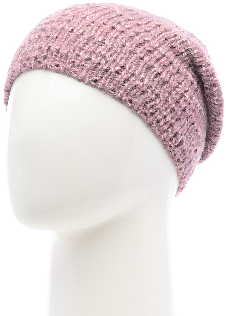 Шапка женская Snezhna, цвет: сиреневый. SWH7113/2. Размер 56/58SWH7113/2Стильная шапка Snezhna, выполнена из высококачественной пряжи. Модель очень актуальна для тех, кто ценит комфорт, стиль и красоту. Отличный вариант на каждый день.Уважаемые клиенты!Размер, доступный для заказа, является обхватом головы.