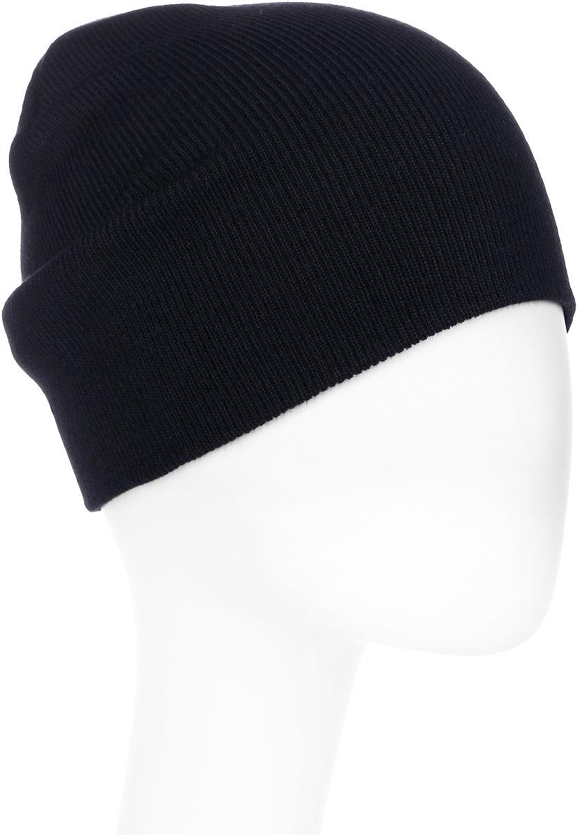 Шапка мужская Quiksilver, цвет: черный. EQYHA03100-KVJ0. Размер универсальныйEQYHA03100-KVJ0Вязаная шапка Quiksilver выполнена из акрила. Модель тонкой вязки имеет свободный крой. Изделие оформлено фирменной нашивкой.