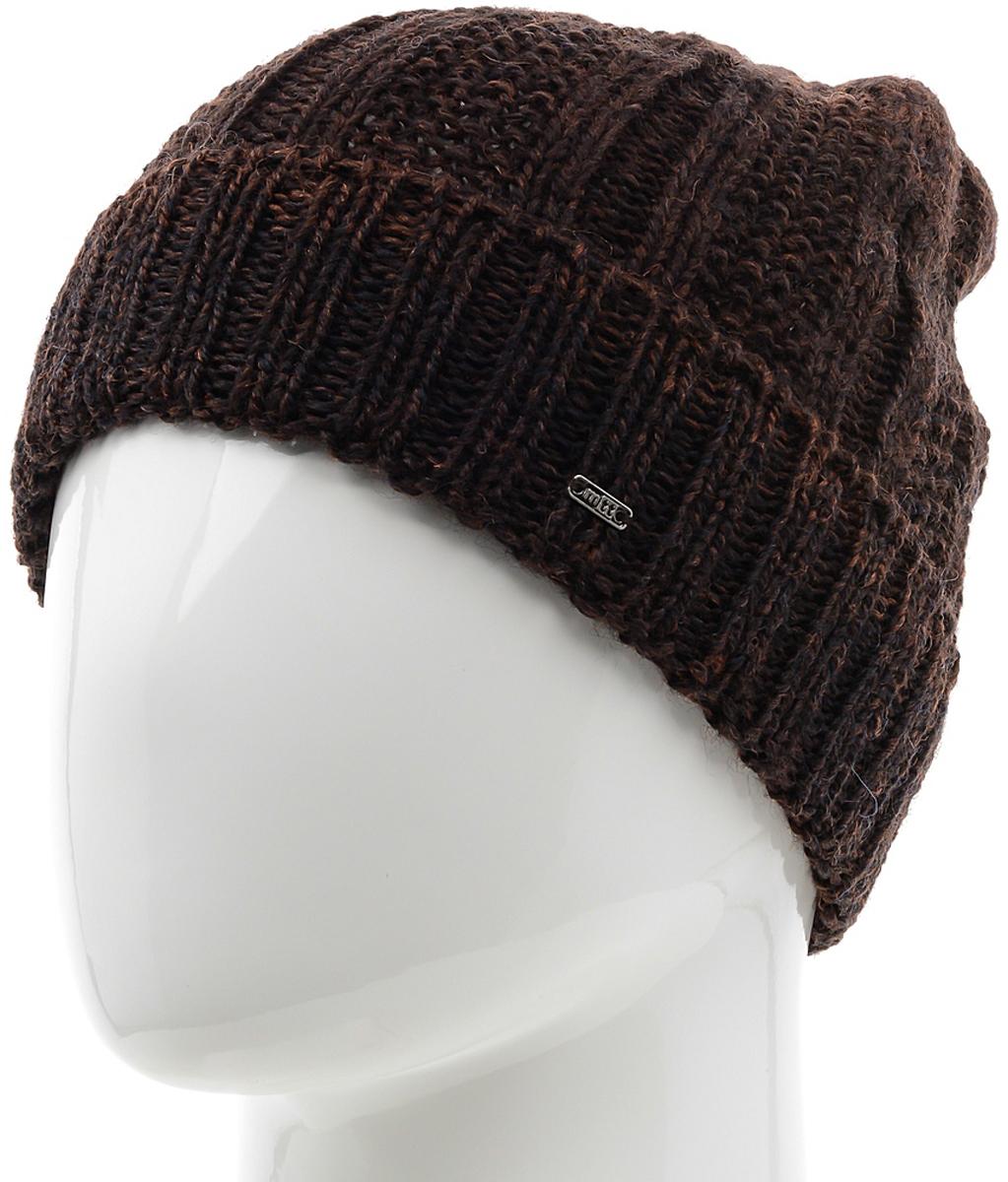 Шапка мужская Marhatter, цвет: коричневый. Размер 57/59. MMH6001MMH6001Замечательная шапка, выполненная из теплого комфортного материала. Незаменимая вещь на прохладную погоду.