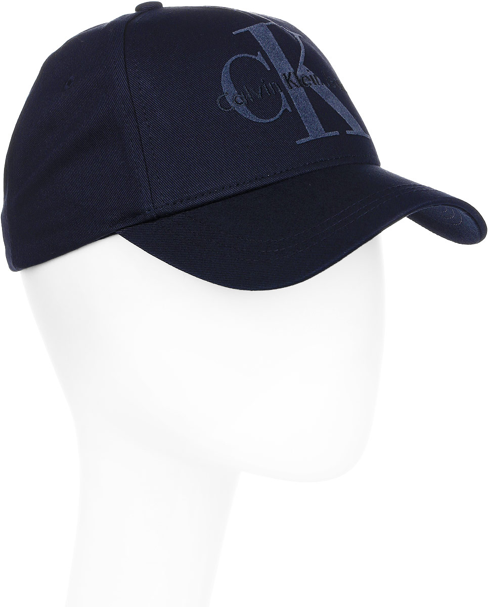 Шапка мужская Calvin Klein Jeans, цвет: синий. K50K503425/423. Размер универсальныйK50K503425/423
