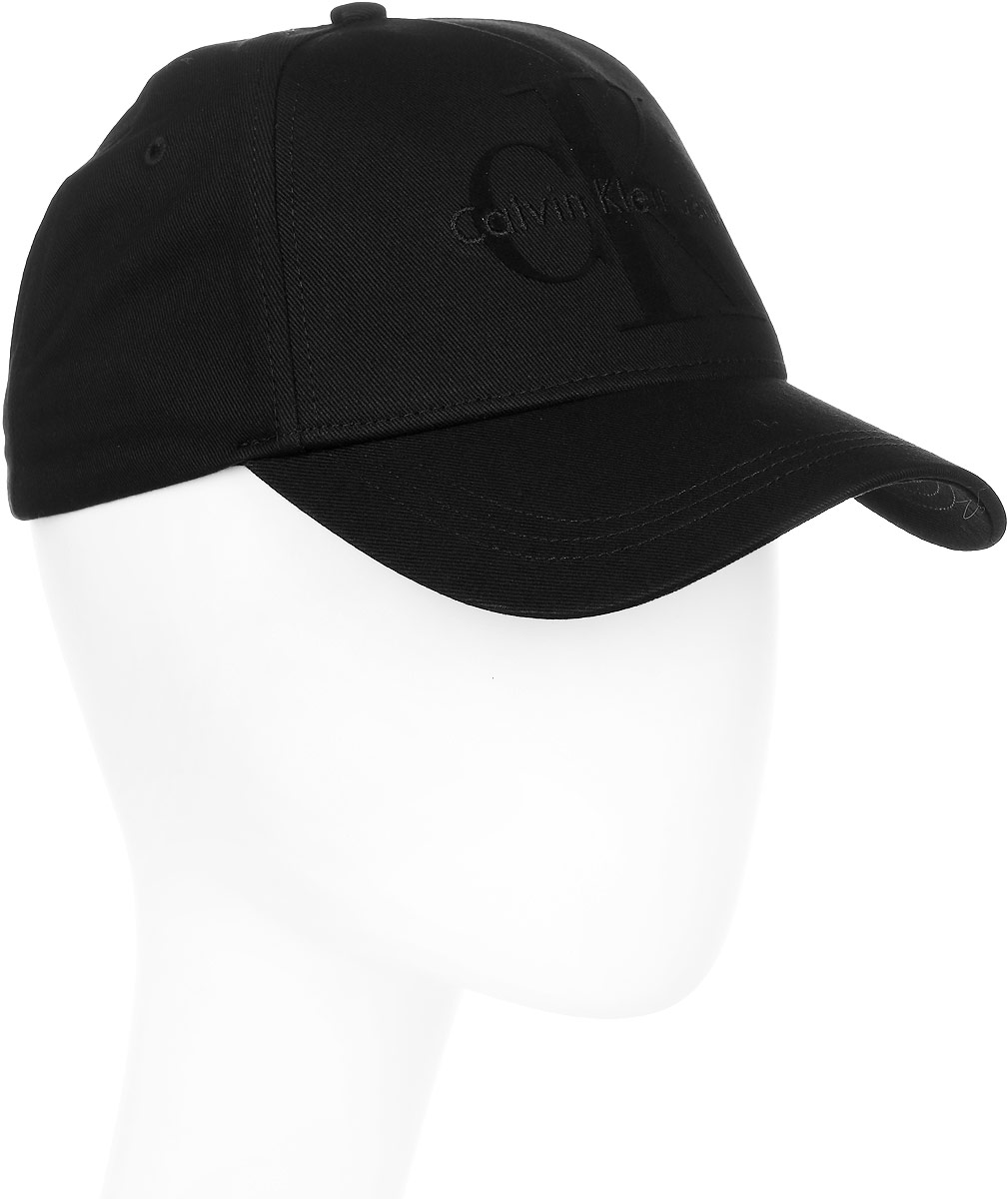 Шапка мужская Calvin Klein Jeans, цвет: черный. K50K503425/001. Размер универсальныйK50K503425/001