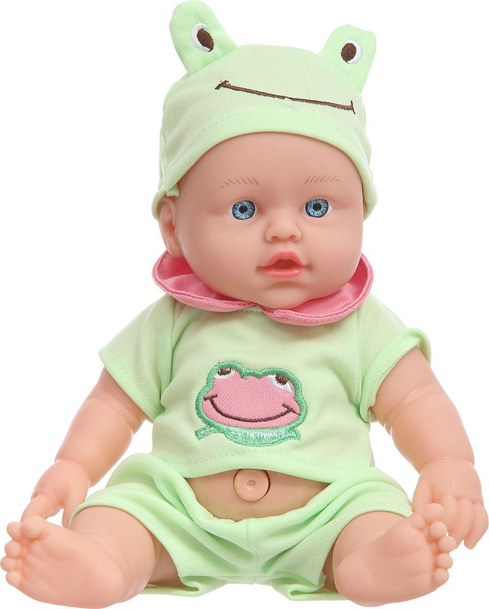 S+S Toys Пупс озвученный 34 см 101023559 игровые фигурки s s toys игрушка ящерица 30 см