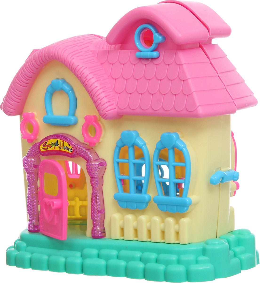S+S Toys Складной дом для кукол Happy ролевые игры s s toys игрушка волшебная палочка
