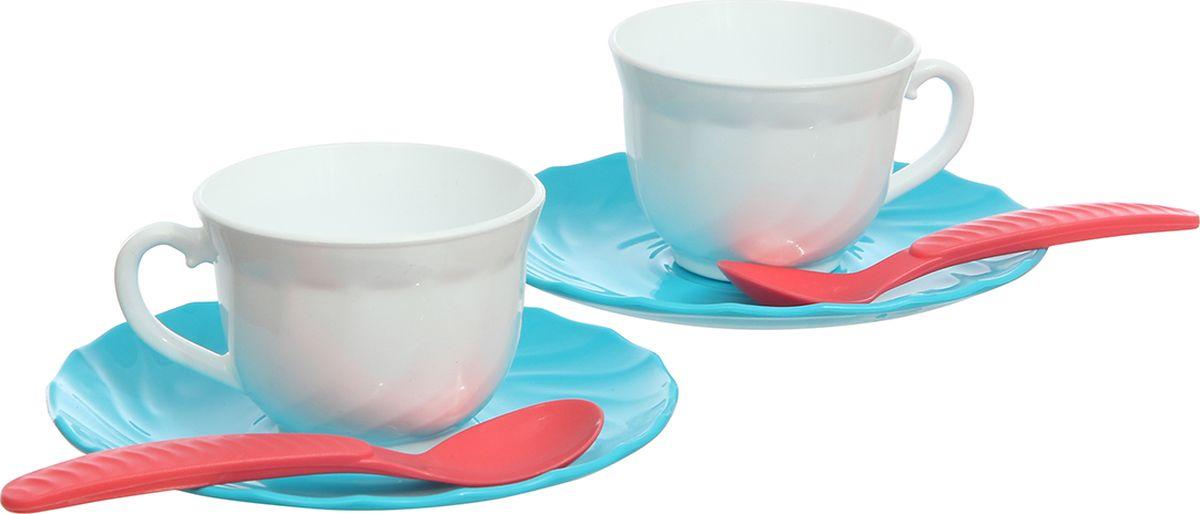 РосИгрушка Набор игрушечной посуды Чайный Две персоны игрушки для зимы росигрушка песочный набор транспорт 3 л дорожный патруль