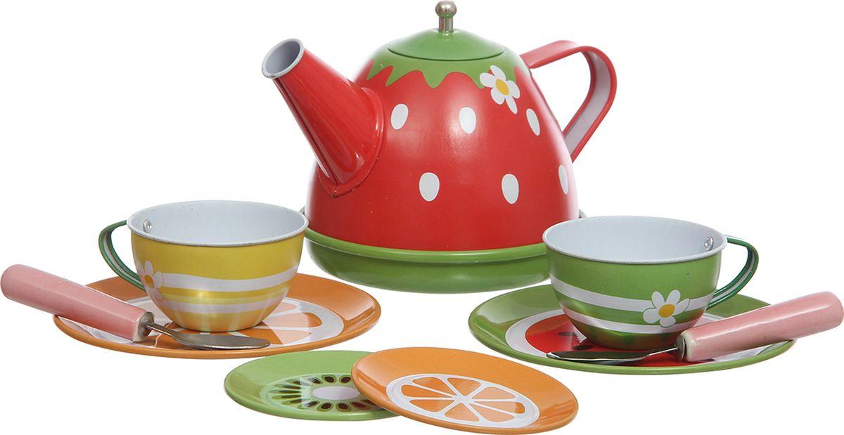Shantou Gepai Игровой набор Чайный сервиз Клубничка игровые наборы shantou gepai игровой набор