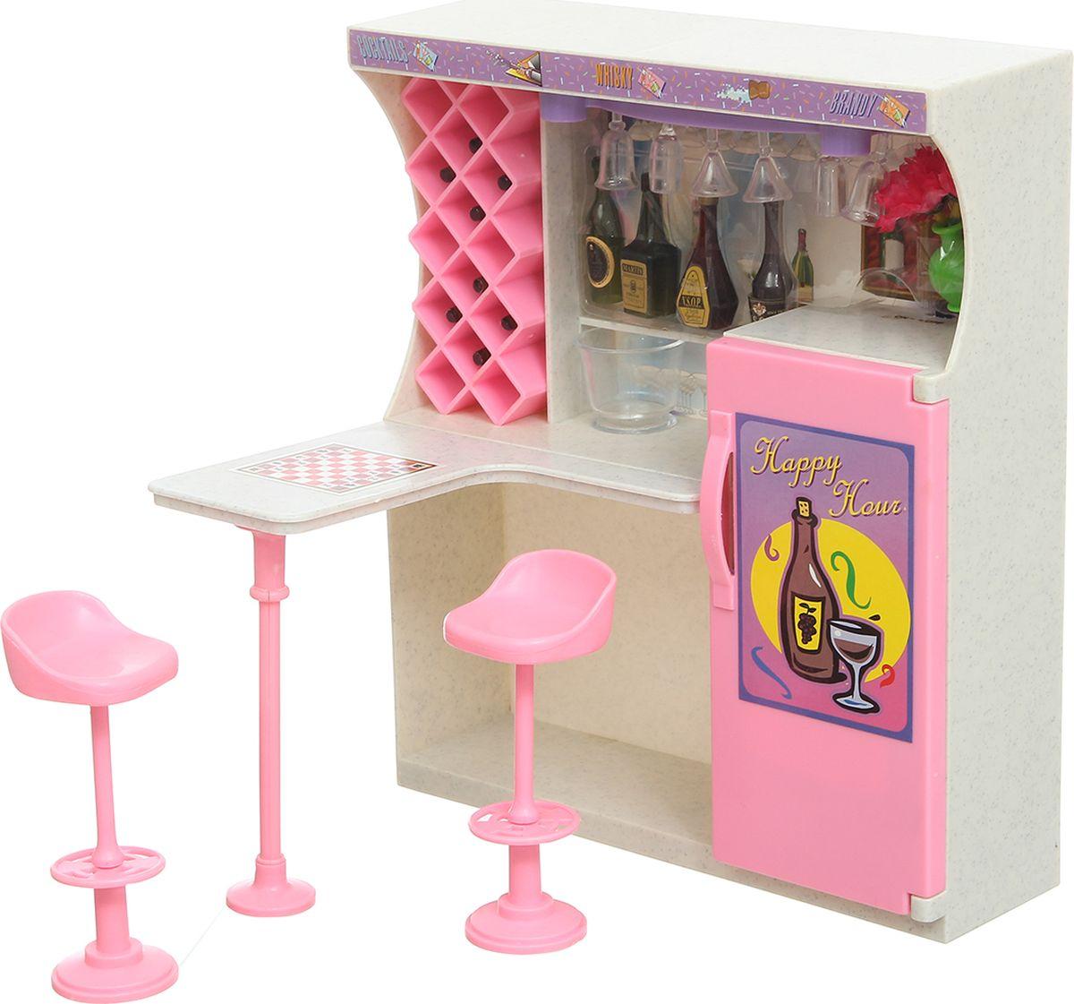 S+S Toys Мебель для кукол Уютная квартирка со светом б у мебель кухню в магнитогорске