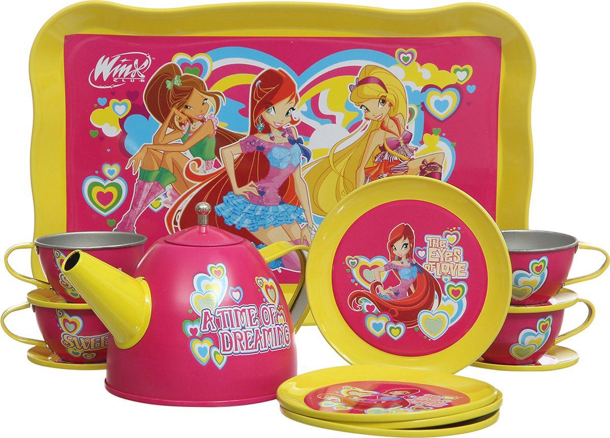 Winx Club Игровой набор посуды Чайный сервиз 14 предметов игровые наборы winx club касса с аксессуарами со светом и звуком