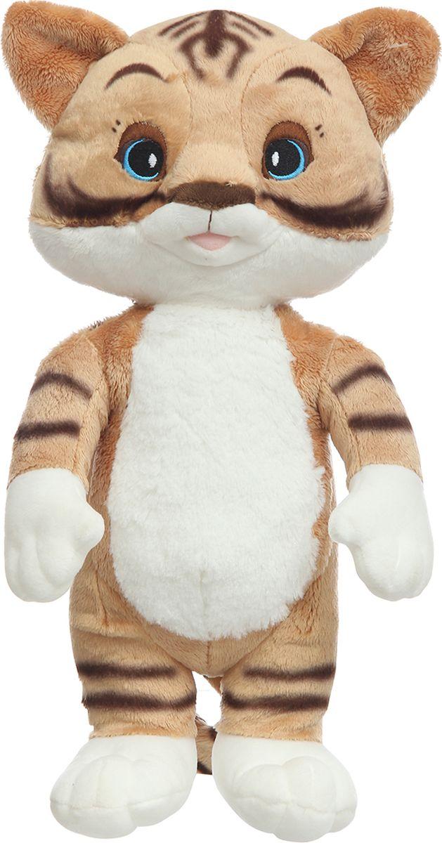 Спокойной ночи, малыши! Мягкая озвученная игрушка Тигренок Мур 33 см все дни все ночи
