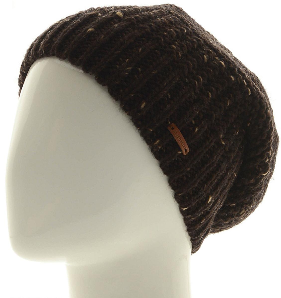Шапка мужская Marhatter, цвет: коричневый. Размер 57/59. MMH7127/2MMH7127/2Отличная вязаная шапка в стиле сasual. Модель прекрасно подойдет активным молодым людям, ценящим комфорт и удобство. Идеальный вариант на каждый день.