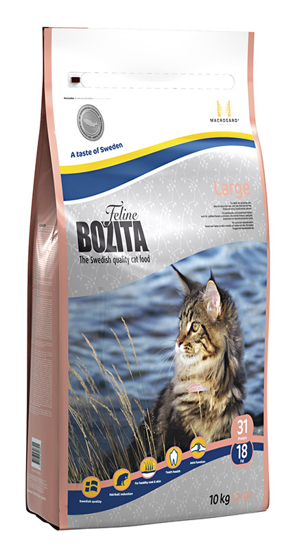 Корм сухой Bozita  Feline Funktion Large , для кошек крупных пород, 10 кг - Корма и лакомства