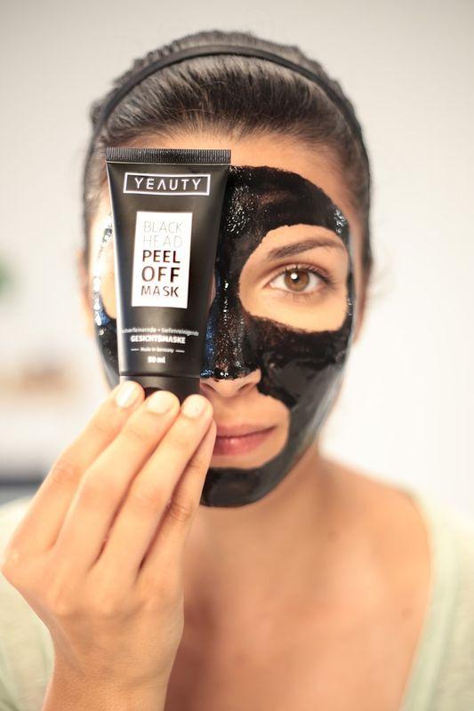 YeautyОчищающая маска для лица черного цвета Peel Off, 50 мл Yeauty
