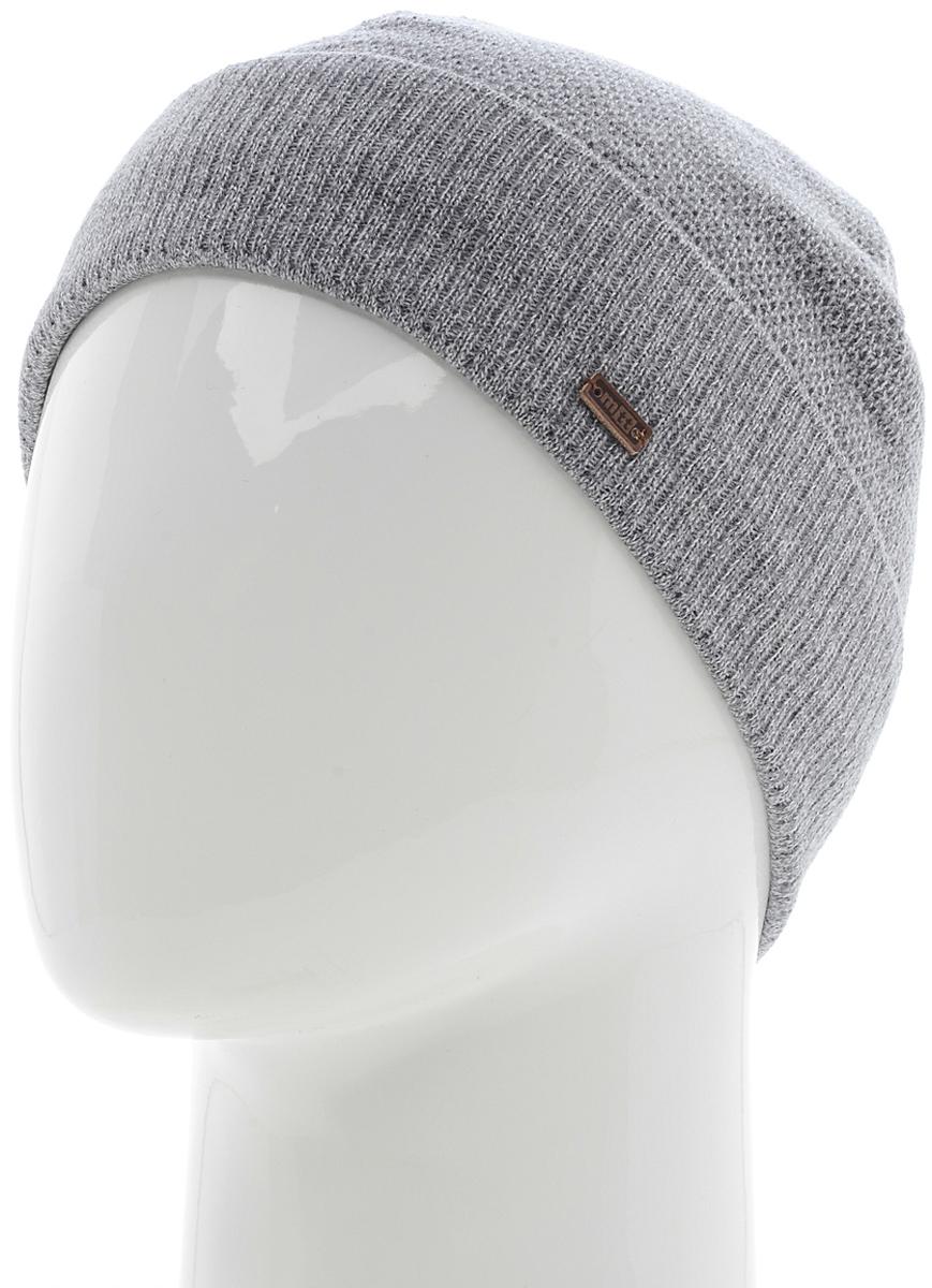 Шапка мужская Marhatter, цвет: светло-серый. Размер 57/59. MMH4877/2MMH4877/2Стильная теплая шапка на полном флисе, выполненная из высококачественных материалов, станет для вас незаменимой вещью. Будет хорошо смотреться не только со спортивной одеждой, но и с повседневной.
