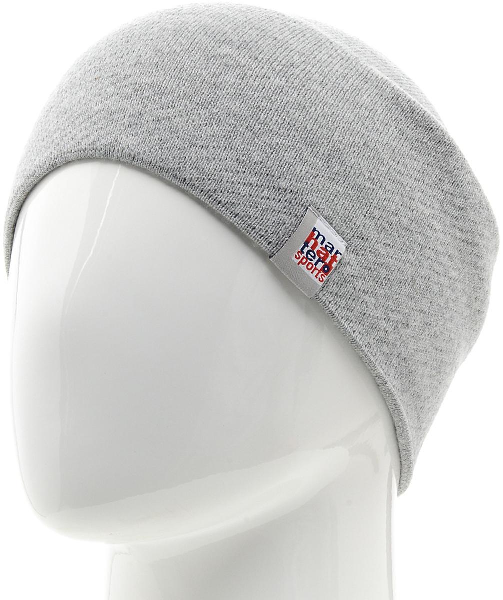 Шапка мужская Marhatter, цвет: светло-серый. Размер 57/59. MYH5283/4MYH5283/4Замечательная модель, гарантирующая тепло. Незаменимый аксессуар в холодную погоду. Идеальный вариант на каждый день. Модель утеплена специальным материалом, который хорошо впитывает влагу и сохраняет тепло.