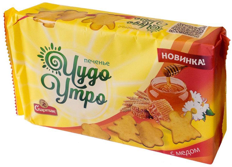 Спартак Чудо - утро печенье с медом, 150 г