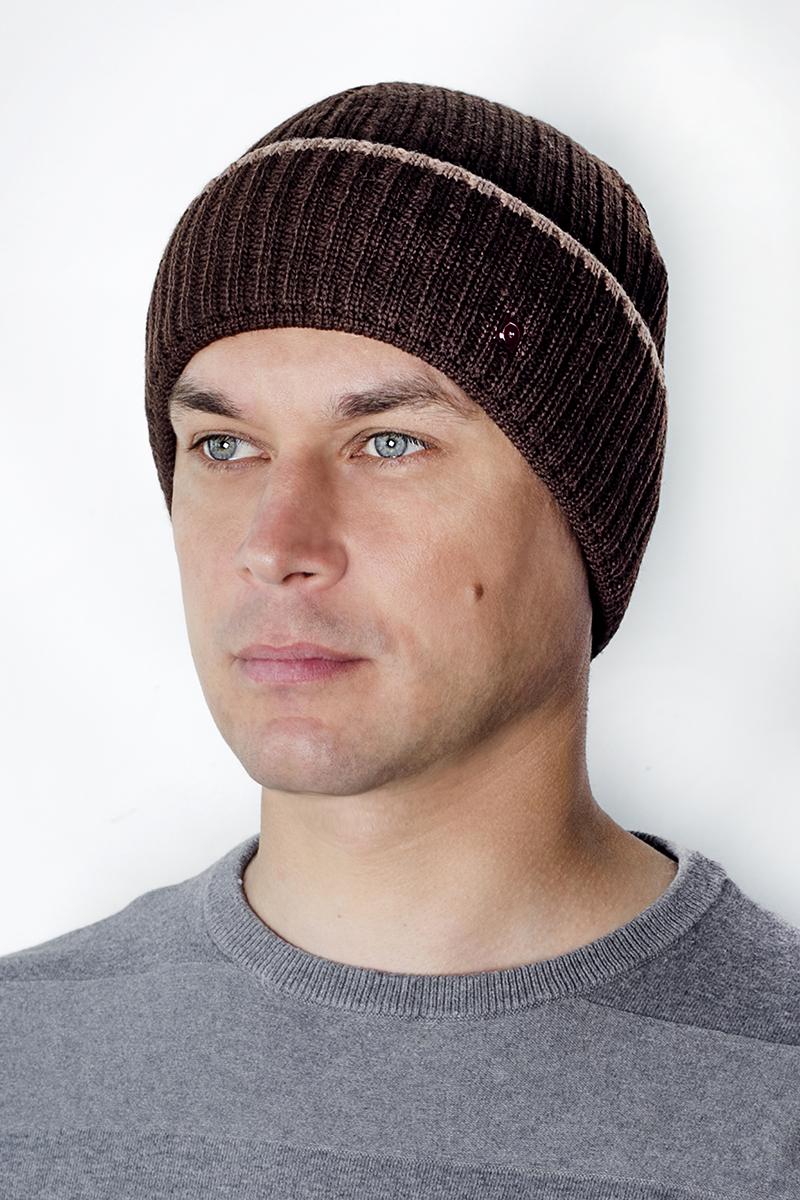 Шапка мужская Marhatter, цвет: серый. Размер 56/58. 44914491Классическая шапка с отворотом на полном флисе. Теплый и красивый головной убор в стиле classic, подойдет и для спортивных мероприятий и для повседневной жизни.