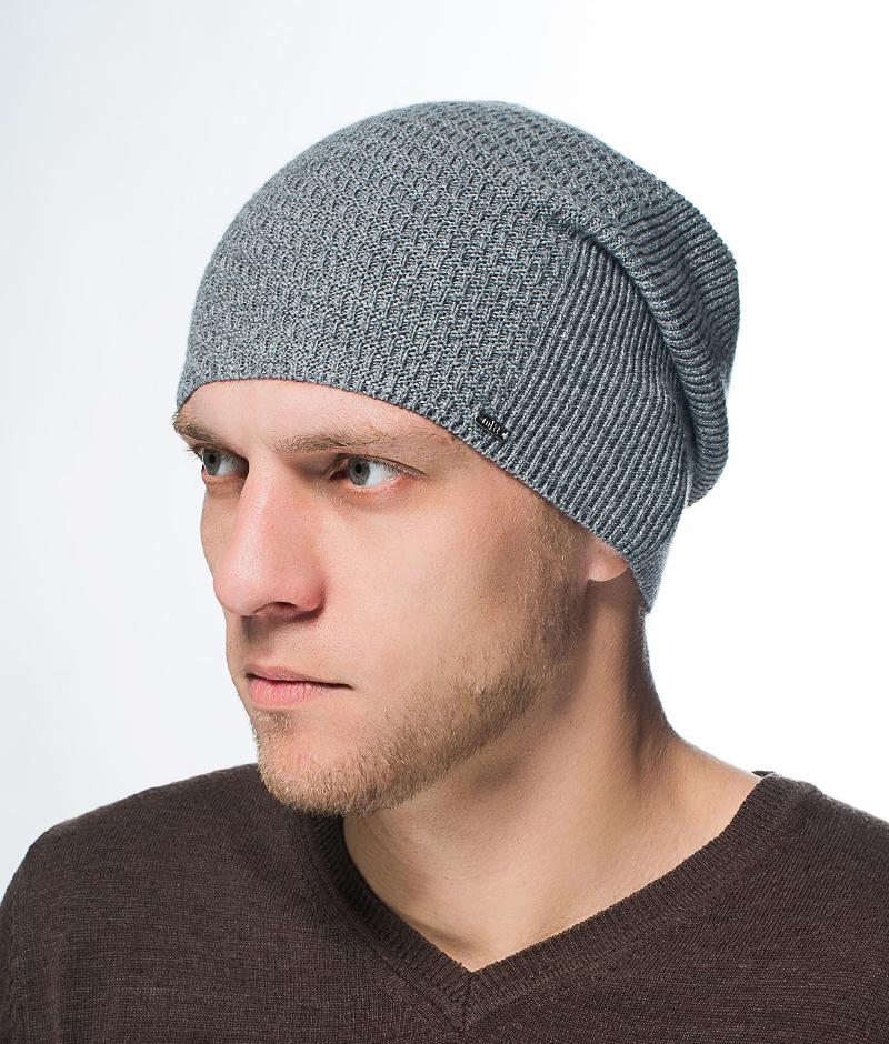 Шапка мужская Marhatter, цвет: серый. Размер 57/59. MMH6574/2MMH6574/2Стильная шапка выполнена из тонкого кашемира и утеплена флисом. Идеальный вариант на каждый день.