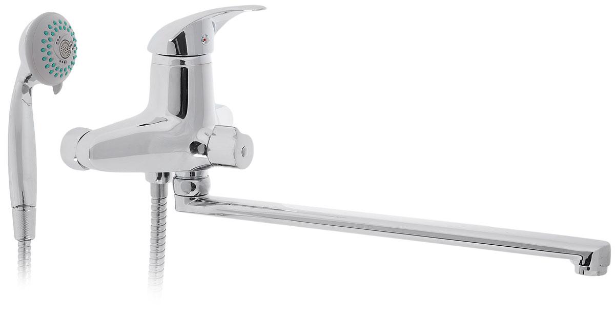 Смеситель для ванны Tsarsberg, с L-образным изливом. ИС.240017ИС.240017Смеситель для ванны Tsarsberg изготовлен из высококачественного силумина. Инновационные технологии литья и обработки силумина, а также увеличенная толщина стенок смесителя обеспечивают его стойкость к перепадам давления и температур.Покрытие полностью соответствует европейским стандартам качества, обеспечивает его стойкость и зеркальный блеск в течение всего срока службы изделия.Аэратор гарантирует ровный и мягкий поток воды без брызг. Встроенный ограничитель потока оптимизирует расход воды без потери комфорта при использовании. В комплект входят лейка и шланг со встроенным керамическим переключением.Аэратор: съемный пластиковый.Картридж: керамический 40 мм.Длина излива: 35 см.