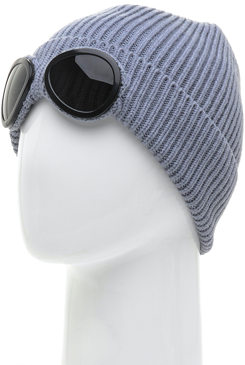 Шапка мужская Marhatter, цвет: серый. Размер 57/59. MYH6138/2MYH6138/2Замечательная стильная шапка с очками, выполненная из теплого комфортного материала. Модель отлично подходит для молодых и активных. Придаст вашему образу оригинальность.