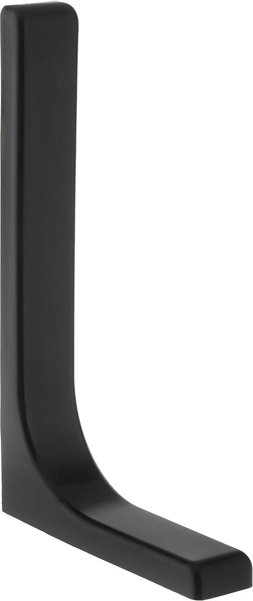 Консоль Tech-KREP, с декоративной накладкой, цвет: черный, длина 24 см129961Консоль Tech-KREP изготовлена из металла и оформлена пластиковой декоративной накладкой. Консоль устанавливается на мебель и предназначено для поддержки деревянных полок. Изделие послужит украшением и стильным элементом дизайна вашего интерьера. С внутренней стороны консоли имеются отверстия для крепления.Размер: 24 х 14 х 3,5 см.