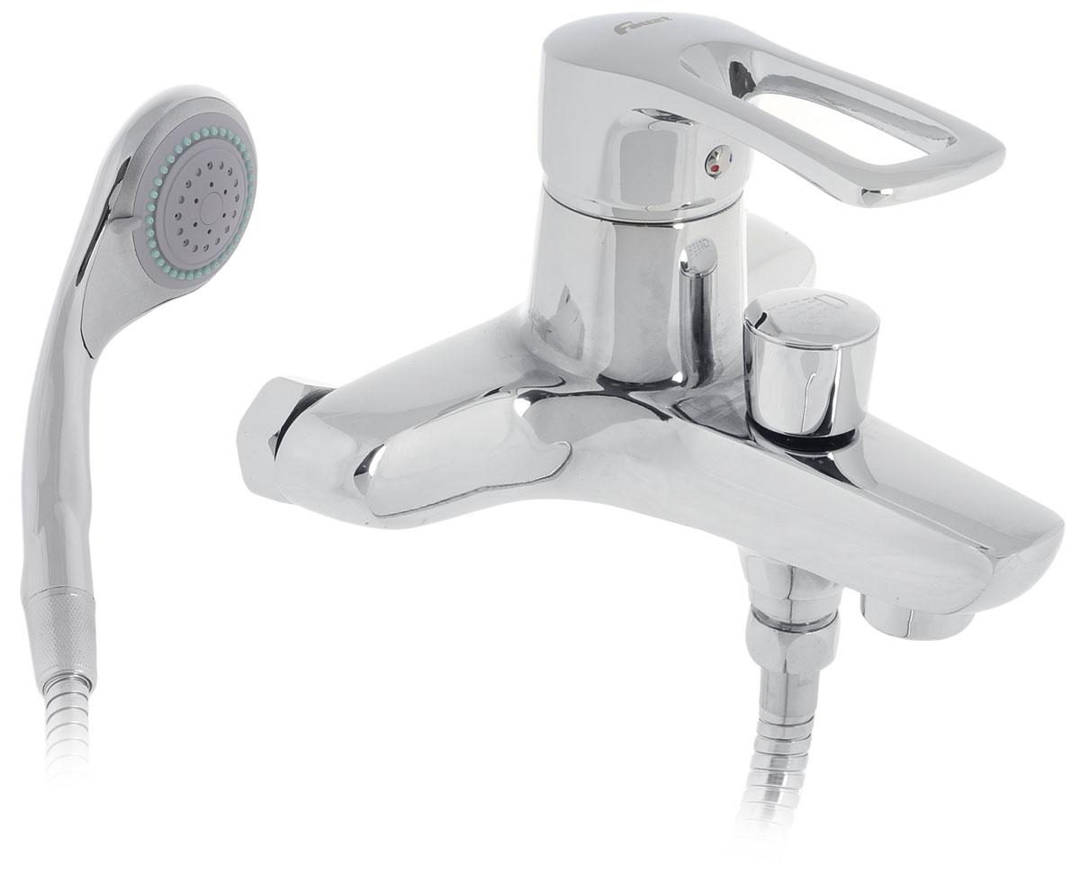Смеситель для ванны Fauzt, с коротким изливом. ИС.240108