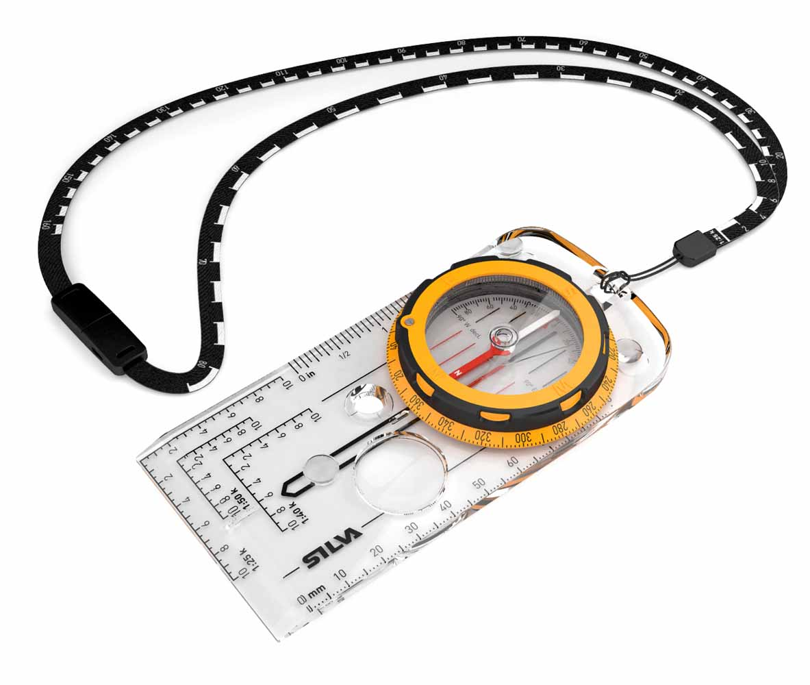 Компас Silva Compass Expedition, цвет: желтый компас silva compass 54 6400 6400 360