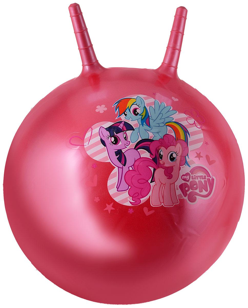 Играем вместе Мяч My Little Pony с рожками цвет красный 45 см