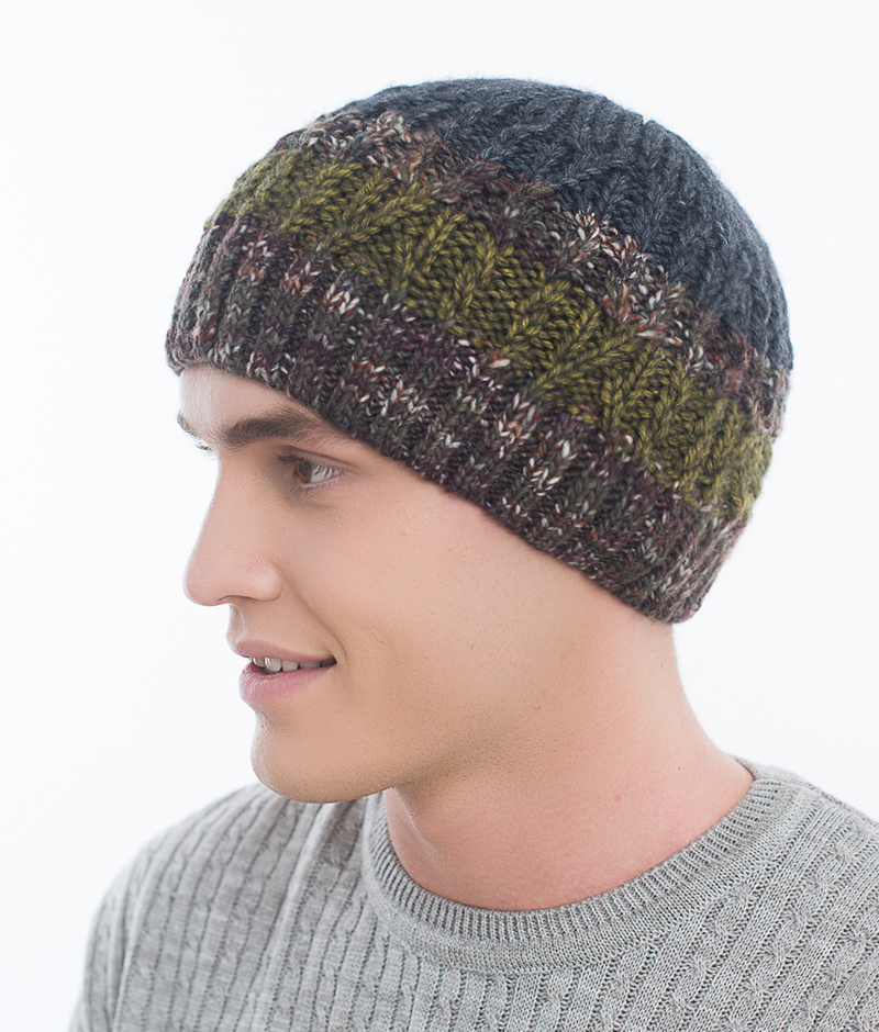 Шапка мужская Marhatter, цвет: темно-серый, серый. Размер 57/59. MMH6781/2MMH6781/2Отличная вязаная шапка в стиле сasual. Модель прекрасно подойдет активным молодым людям, ценящим комфорт и удобство. Идеальный вариант на каждый день.