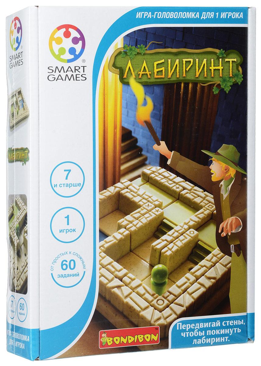 Bondibon Обучающая игра Лабиринт bondibon обучающая игра замок загадок нескучный город